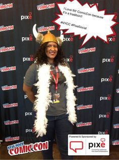 I Love NY ComicCon because it's a tradition!! #NYCC #PixeSocial