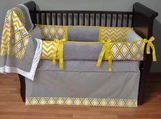 gray infant bedding | Baby Bedding - $289.00 : Boy Baby Bedding Crib Sets, Custom Girl Baby ...