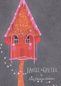Hansel & Gretel Illustration by Diana Mayo, represented by Artist Partners