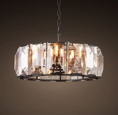 Harlow Crystal Chandelier 31""
