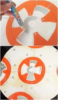 BB-8 DIY Costume