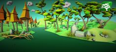 Low Poly Tree Pack by RakshiGames.deviantart.com on @DeviantArt