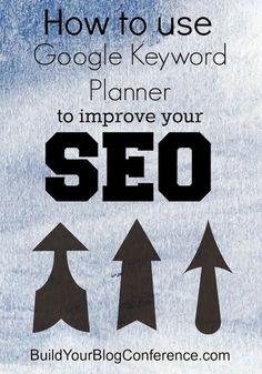 Using Google Keyword Planner to Improve SEO