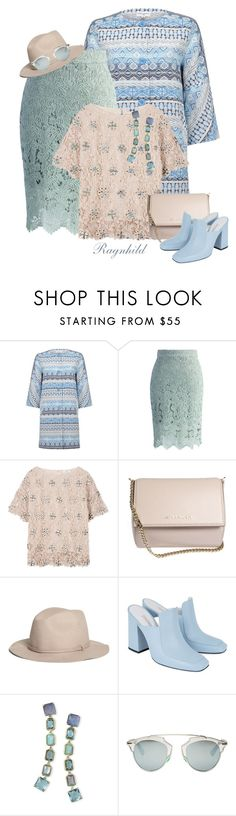 """Blue,Green, Pink  (3 Colors)"" by ragnh-mjos ❤ liked on Polyvore featuring Almost Famous, Chicwish, DAY Birger et Mikkelsen, Givenchy, Brooks Brothers, Dorateymur, Ippolita and Christian Dior"