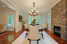 Dining Room - traditional - dining room - dc metro - by Tradition Homes
