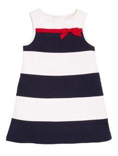 girls' stripe dress - kate spade new york