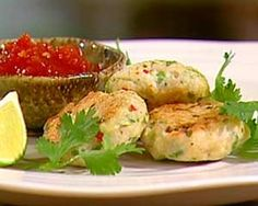 Rachel Allen experiments with Thai flavours of lemongrass and chilli in her chicken cakes Chicken Cake, Thai Chicken, Chilli Jam, Sweet Chilli, Rachel Allen, Thai Cooking, Asian Recipes, Ethnic Recipes, Savoury Dishes