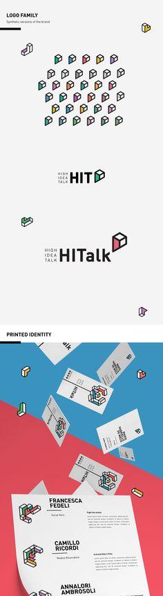 HITALK - Dynamic Brand Identity on Behance