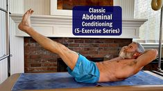 Classic Abdominal Conditioning Exercises that Work!) - - Properly conditioned core muscles help protect your spine and vital organs. Avoid future back pain by developing stronger abs! Pilates Workout Routine, Gym Workout Videos, Gym Workout For Beginners, Home Exercise Routines, Ab Workout At Home, Fitness Workouts, Weekly Workouts, Exercise Workouts, Men Exercise
