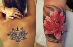 Tatuagem de flor de lótus: saiba tudo a respeito - Nada Frágil
