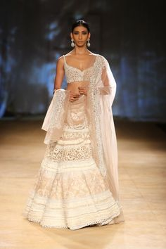 Lovely white lehenga