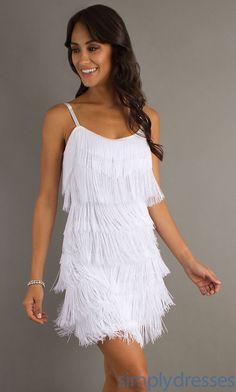 Fringe Short Dress