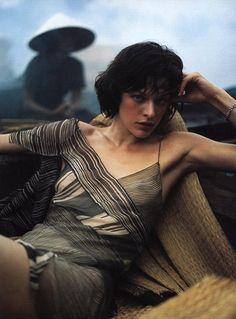 donna karan ads | milla jovovich