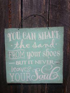 You Can Shake The Sand From Your Shoes Sign, Beach Sign, Beach Saying, ocean theme, beach house decor, Beach Theme