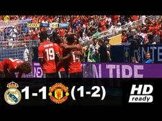 Manchester United vs Real Madrid 1-1 (2-1)   Highlights & All Goals   ICC 2017 - YouTube