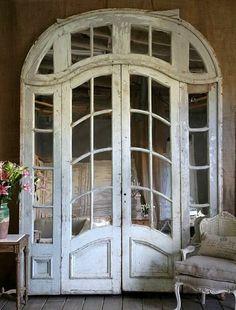 more old doors. pushlove more old doors. more old doors. Vintage Doors, Antique Doors, Old Doors, Windows And Doors, Entry Doors, Antique French Doors, Front Doors, Arched Doors, Patio Doors