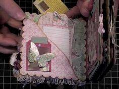Shabby Chic  Scrapbook Mini Album