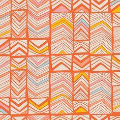 print & pattern: FABRICS - meadow by leah duncan