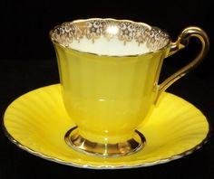 Paragon Incandescent Bright DEMI simplyTclub Tea cup and saucer