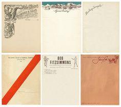 The House That Lars Built.: letterheads