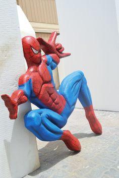 Styrofoam Spiderman