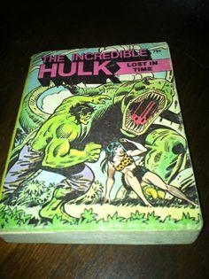 the incrediable hulk big little book by NeonSwann on Etsy