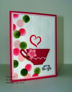 You're my Cuppa Tea by Stampin.Scrapper - Cards and Paper Crafts at Splitcoaststampers