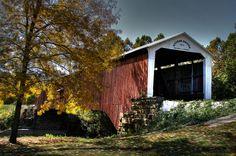Built 1873 over the Big Vermillion River by Joseph J. Daniels, Rockville