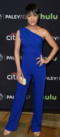 CRISTALLINI-with Grace Gealey, Empire and The Paley Center for Media in Los Angeles,California #Jumpsuit #EveningStyle