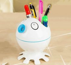 Cartoon Octopus Pen Holder,USB Humidifier