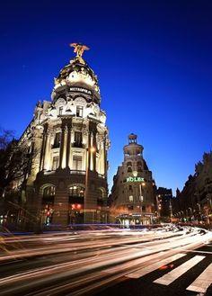 Gran Vía , Madrid