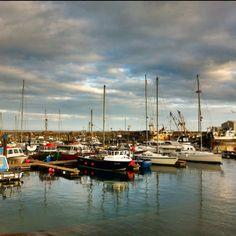 Kilmore Quay, Wexford, Ireland.