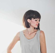 Nice Short Bob Haircuts with Bangs | http://www.short-haircut.com/nice-short-bob-haircuts-with-bangs.html