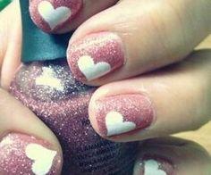 heart nails | Nails & Tutorials