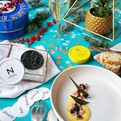 Tartare de veau de lait, sabayon citronné, Caviar de Neuvic – Copyright © Gratinez