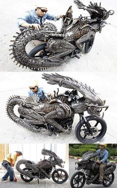 Alien vs. Predator Motorcycle