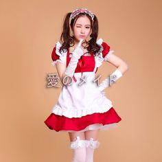 Adult Candy Colors Anime Lolita Fancy Dress Cosplay Japanese Cafe Maid Costumes Dress/Headwear/Apron Women Maid Uniforms Colthes on Aliexpress.com | Alibaba Group