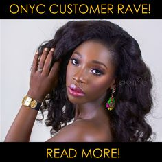 #ONYCHair Customer Rave: Marielle N.! On this weeks' Customer Rave, #ONYCBeauty shows her love for the Fro Out #hair! Visit the site now to check out #TheInterview>>> ONYCHair.com