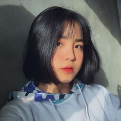 Shot Hair Styles, Long Hair Styles, Korean Short Hair, Korean Makeup Tutorials, Ulzzang Korean Girl, Uzzlang Girl, Anime Hair, My Hairstyle, Natural Makeup