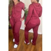 Lovely Casual Hooded Collar Pocket Patched Red Two-piece Pants Set – Tatto Styles Red Two Piece, Two Piece Pants Set, Wholesale Shoes, Wholesale Clothing, Casual Co, Black One Piece Jumpsuit, Brazilian Lace Front Wigs, Pixie Cut Wig, Cheap Shoes Online