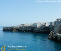 Polignano a Mare, Puglia, Italia.  not only wine & food www.dispensadeitipici.it  #polignanoamare #puglia #italia #dispensadeitipici