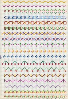 45 Super Cool Doodle Ideas For 2020 · Craftwhack Bullet Journal Writing, Bullet Journal School, Bullet Journal Ideas Pages, Bullet Journal Inspiration, Doodle Borders, Doodle Patterns, Zentangle Patterns, Paper Patterns, Embroidery Techniques
