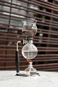 A Coffee Maker That Looks Like It Comes From A Chemistry Lab The old, Business design and ...