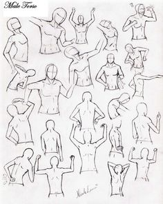 Male Torso Practice by ~DelightsJD on deviantART #130111