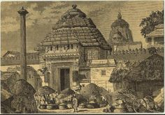 Here is a compilation of some very old photos and paintings of Jagannatha Puri, in Orissa. Many of these photos were taken by William Henry Cornish around Temple Architecture, Indian Architecture, Rare Photos, Old Photos, Unique Facts, Krishna Art, Lord Krishna, Vintage India, City Illustration