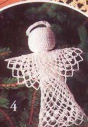 Angel Tree Topper Crocheted  An angel tree topper that is crocheted is perfect for the holiday season. It will look great shining from the top of your tree. A free crochet pattern like this one is elegant and also makes a great gift.
