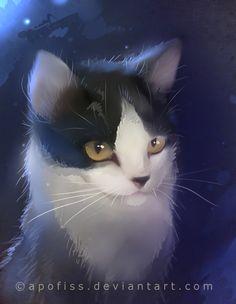 cat oreo by Apofiss.deviantart.com
