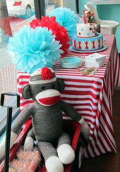 Sock Monkey birthday