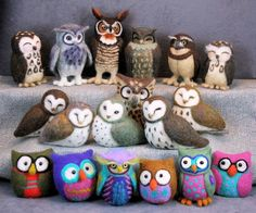 Whoo Gives a Hoot: Needle Felted Owls with Jeanne Harlan-Marriott #craftartedu