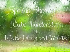 Scentsy Recipe: Spring Showers